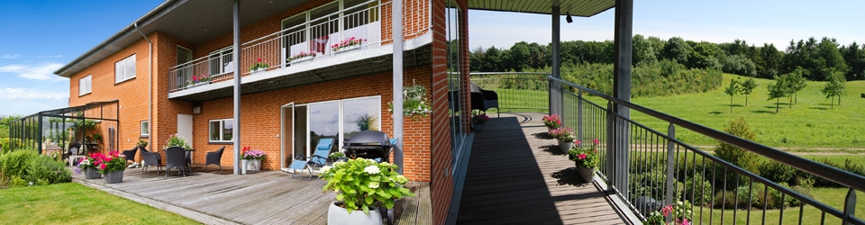 Nul energi villa - lavenergi hus - Vejle