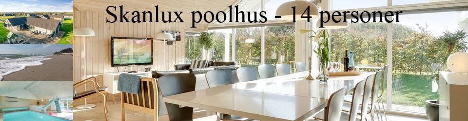 Skanlux poolhus luksussommerhus Kegnæs